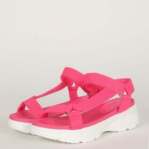 703617a576 BAMBOO Shoes | Women Platform Flatform Slide Sandals | Poshmark
